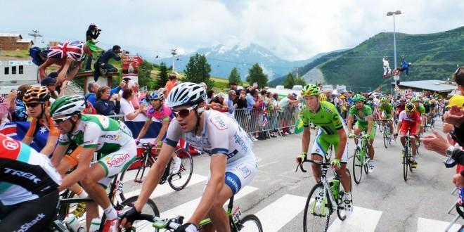 Tour de France 2013, cyclists climbing