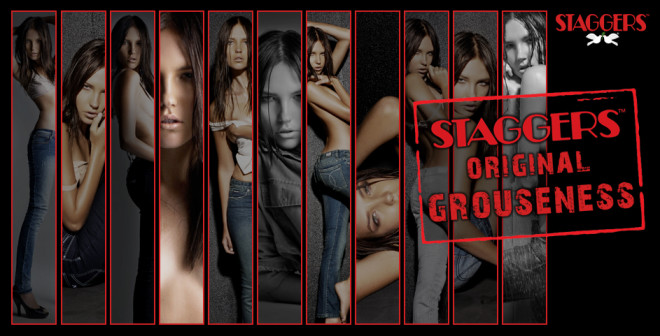 Original grouseness by Staggers jeans