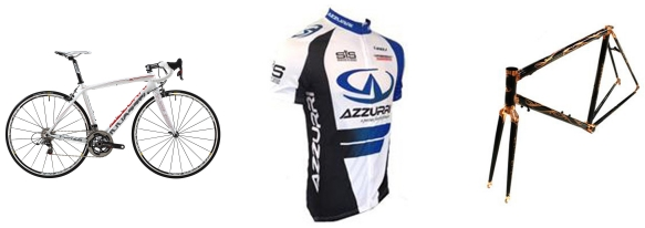 Azzurri cycling products available at Cycling Express