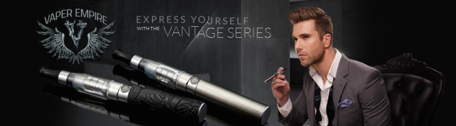 Vantage Series electronic cigarette by Vaper Empire