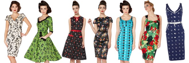 Latest Voodoo Vixen dresses available at Atomic Cherry