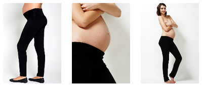 Jacoba black yoga pants available at Queen Bee Maternity