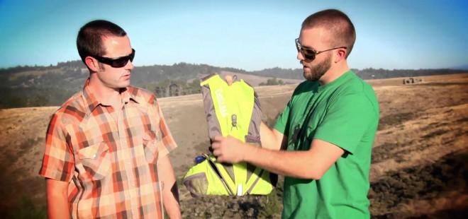 Wild Earth crew testing camping gear