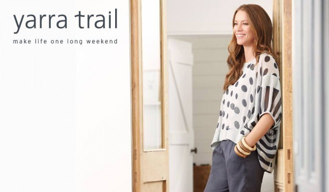 Comfy weekend style by Yarra Trail